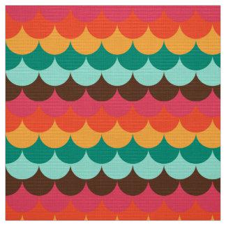 Cute fishscale pattern fabric