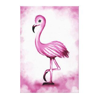 cute Flamingo Canvas Print