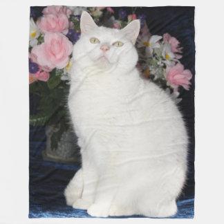 Cute Fleece Blanket/Cute Cat Fleece Blanket