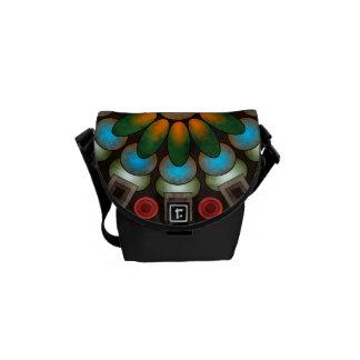 Cute Floral Abstract Vector Artt Mini Bag Messenger Bags