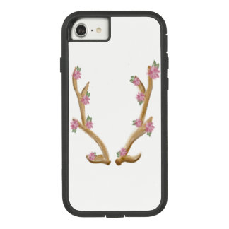 Cute Floral Elk Antler Phone Case