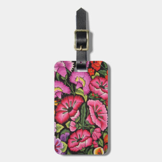 Cute floral,flowers luggage tag