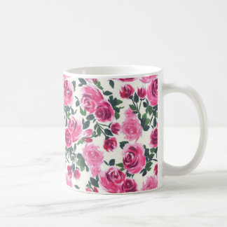 cute floral mug