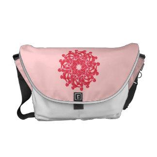 Cute Floral Ornament Messenger Bag