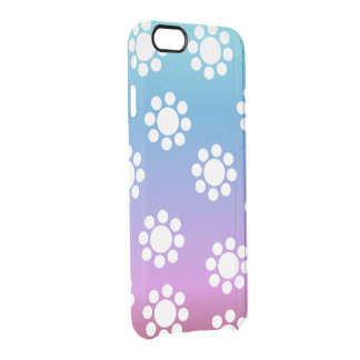 Cute Floral Pattern Clear iPhone 6/6S Case