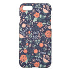 Cute Floral Pattern Girly iPhone 8/7 Case