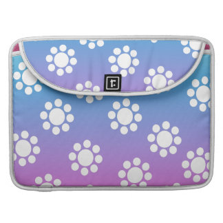 Cute Floral Pattern Sleeves For MacBook Pro