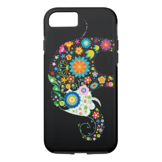 Cute Flower Elephant Floral Animal Vector iPhone 8/7 Case