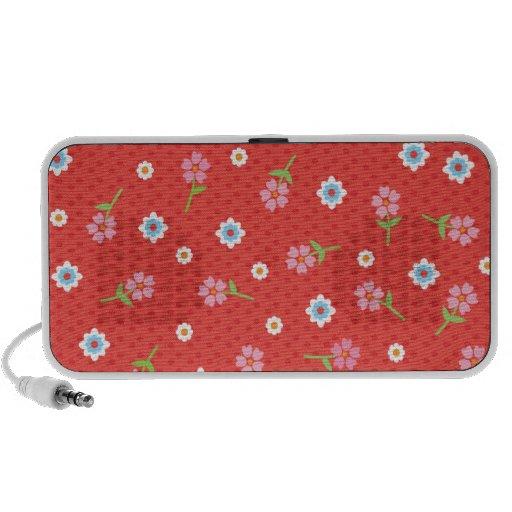 Cute flower polka dot speaker