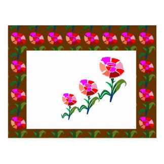 CUTE Flower Show : Decoration Graphics Postcard