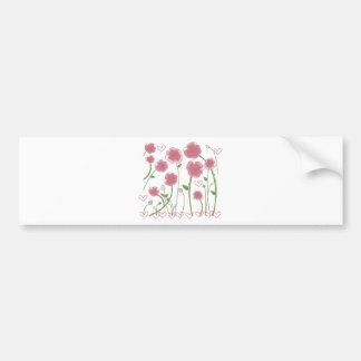 Cute Flowers design! Unique gifts! Bumper Sticker