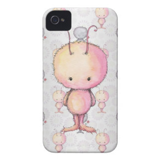 Cute Fluffy Monsters Case-Mate iPhone 4 Cases