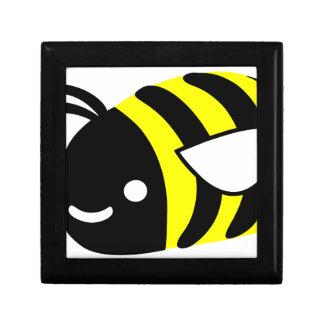 Cute flying bumblebee gift box