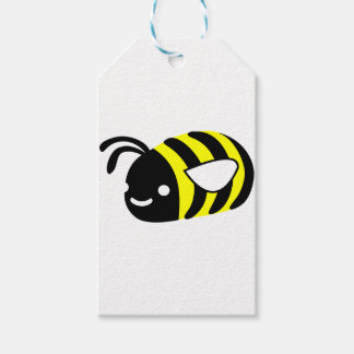 Cute flying bumblebee gift tags
