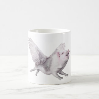 Cute Flying Pig Creative Gift Mug When Pigs Fly
