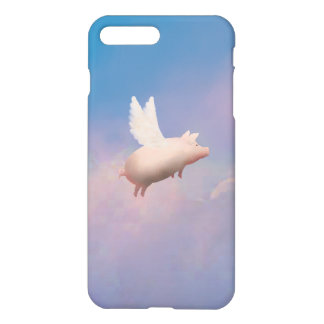 cute flying pig iphone case