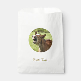 CUTE FOAL FAVOUR BAG