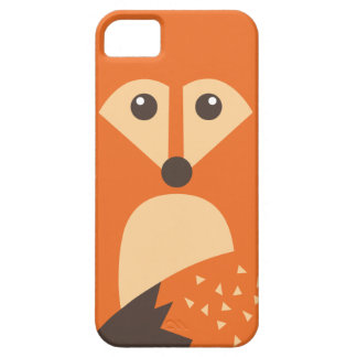 Cute Fox Character iPhone 5/5S Case