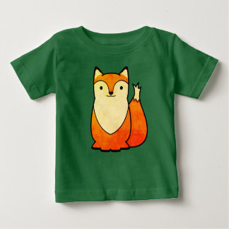 Cute Fox Design Baby T-Shirt