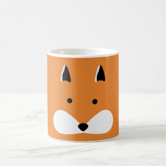 Cute Fox Face Coffee Mug