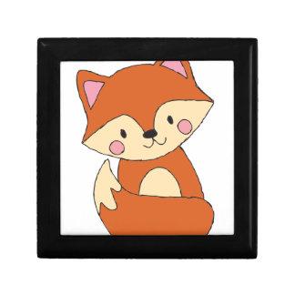 Cute Fox Gift Box
