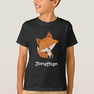 Cute Fox Kid's T Shirts