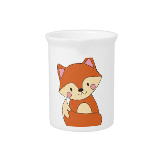 Cute Fox Pitcher