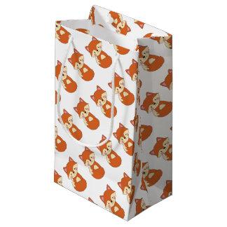 Cute Fox Small Gift Bag