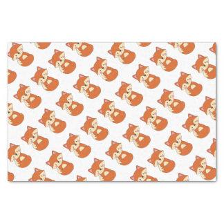 Cute Fox Tissue Paper
