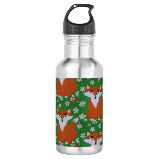 Cute Fox Water bottle 532 Ml Water Bottle