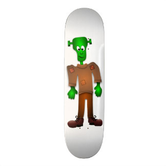 Cute Frankenstein Design Skateboard