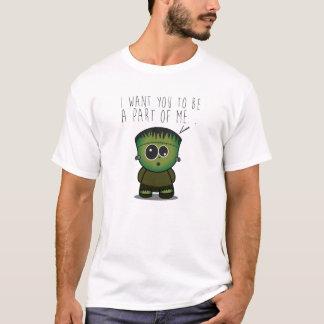 Cute Frankenstein Love T-Shirt