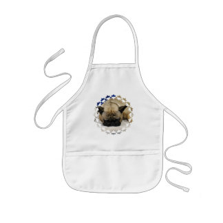 Cute French Bulldog Children's Apron