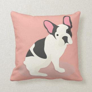 Cute French Bulldog. Cushion