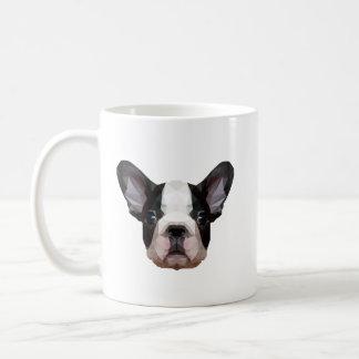 Cute French Bulldog Mug - Low Poly Graphic