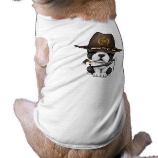 Cute French Bulldog Puppy Zombie Hunter Shirt