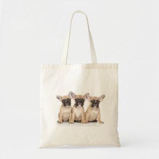 Cute French Bulldogs Tote Bag