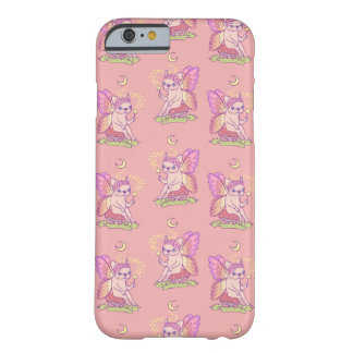 Cute Frenchie fairy is casting a magical spell Barely There iPhone 6 Case