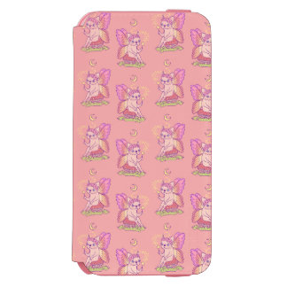 Cute Frenchie fairy is casting a magical spell Incipio Watson™ iPhone 6 Wallet Case