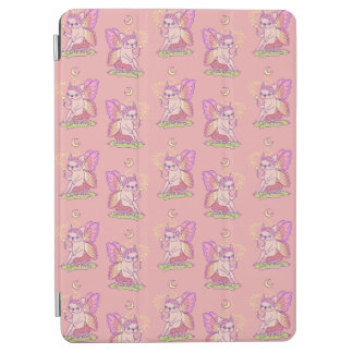 Cute Frenchie fairy is casting a magical spell iPad Air Cover