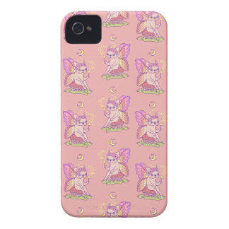 Cute Frenchie fairy is casting a magical spell iPhone 4 Case-Mate Cases