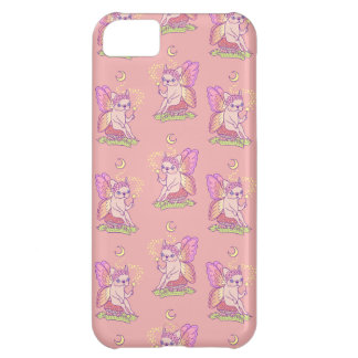 Cute Frenchie fairy is casting a magical spell iPhone 5C Case