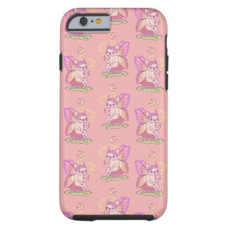 Cute Frenchie fairy is casting a magical spell Tough iPhone 6 Case