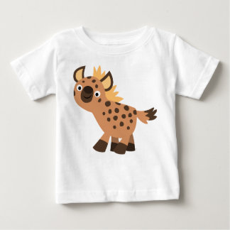 Cute Friendly Cartoon Hyena Baby T-Shirt