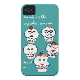 Cute friends cupcakes iphone covers
