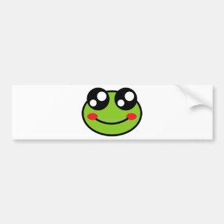 Cute Frog Bumper Sticker