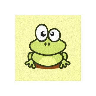 Cute Frog Canvas Print