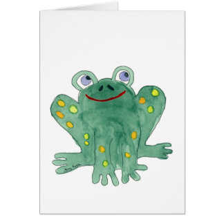 Cute Frog Cards