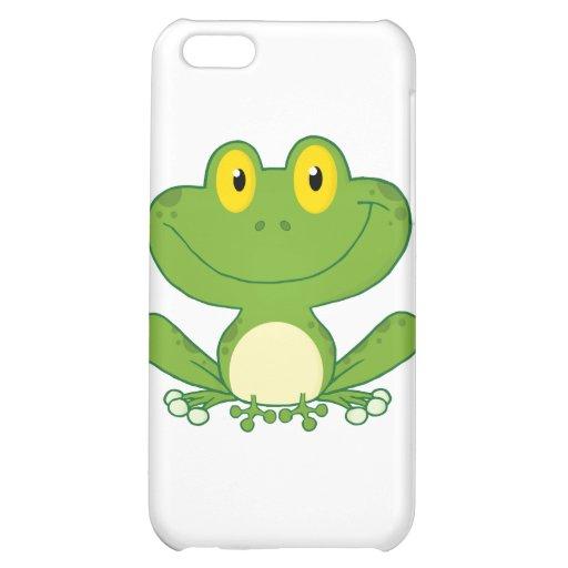 Cute Frog Cartoon Character iPhone 5C Covers