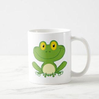 Cute Frog Cartoon Character Mug